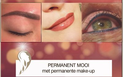 Permanent mooi met permanente make-up