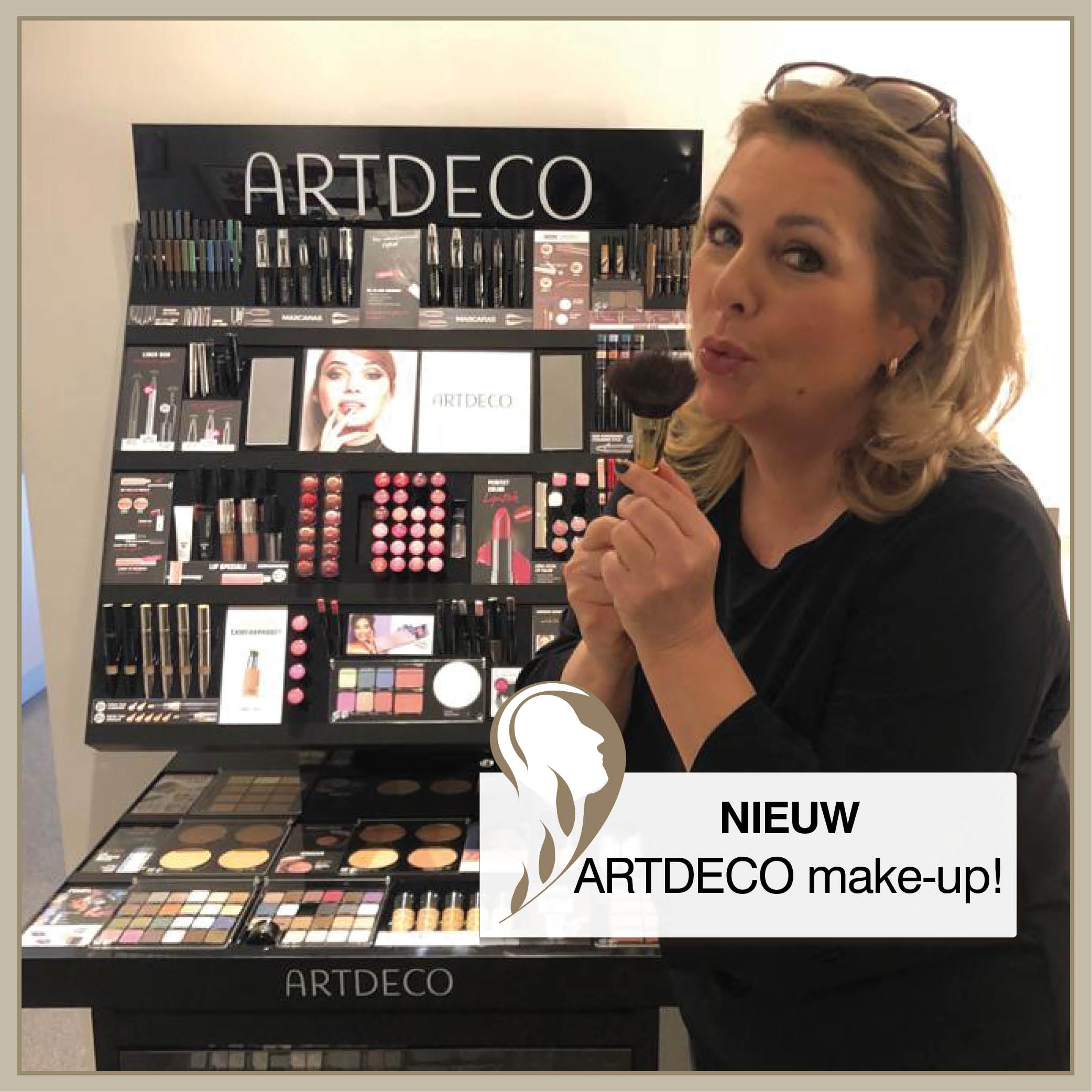 ARTDECO make-up!