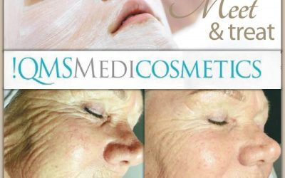 Meet & treat behandeling !QMS Mediocosmetics