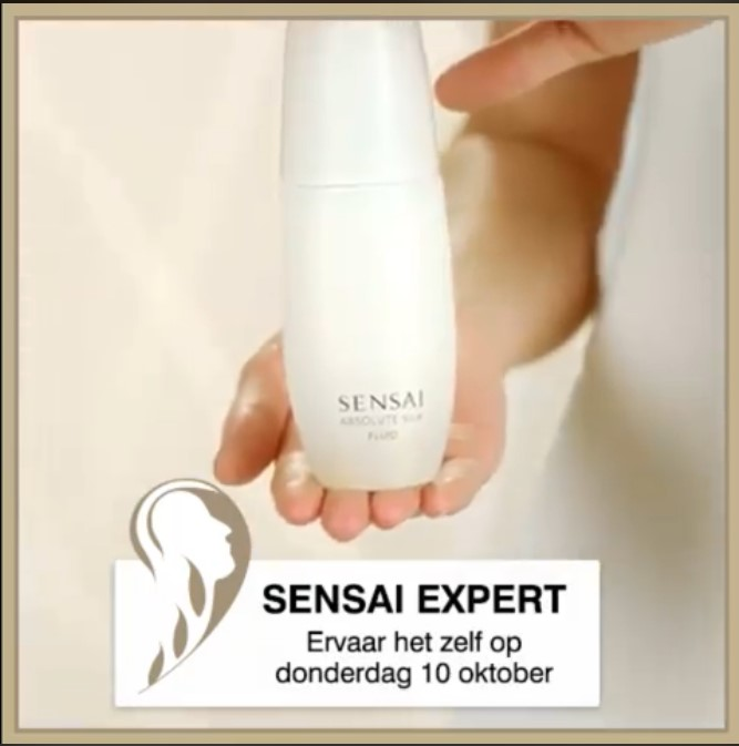 Sensai beauty expert