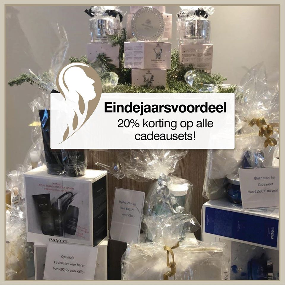 Cadeausets 20% korting
